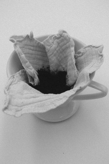 Kaffeefilter aus Leinen