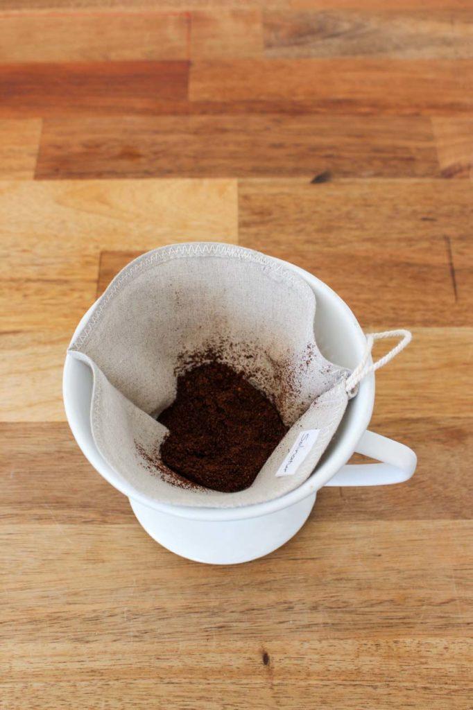 wiederverwendbare Kaffeefilter
