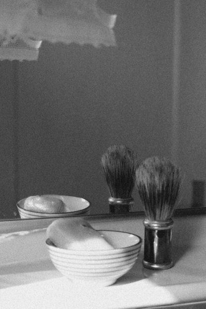Seife für die Rasur