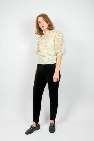 Vintage Bluse Spitze
