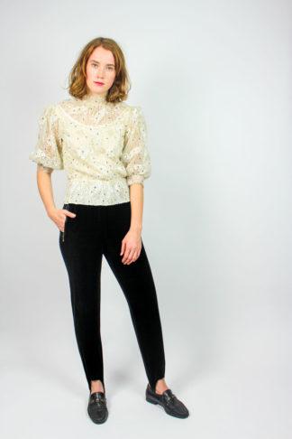 Vintage Hose schwarz