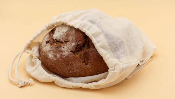 Einkaufsnetze als Brotbeutel