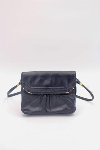 Vintage Handtasche blau
