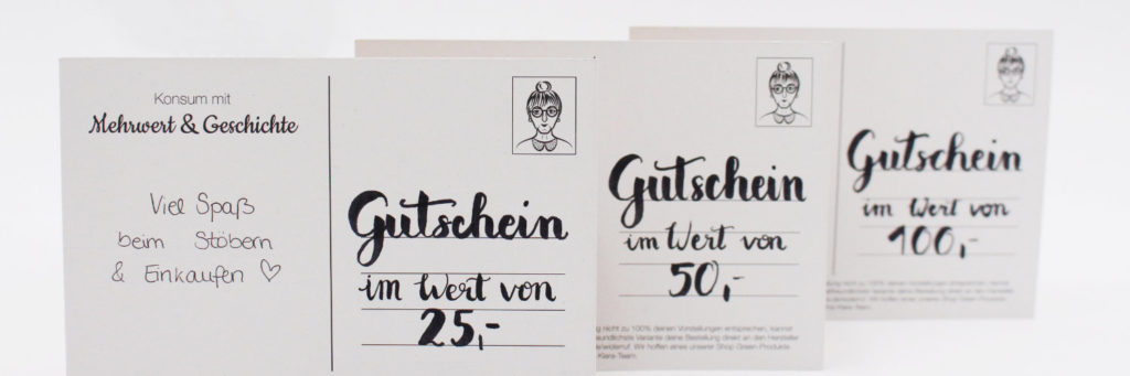 Gutscheine Preview