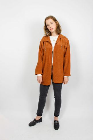 Vintage Jacke braun