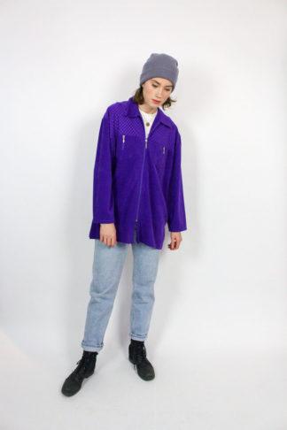 Vintage Jacke lila