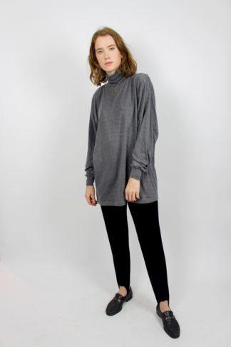 Vintage Pullover grau