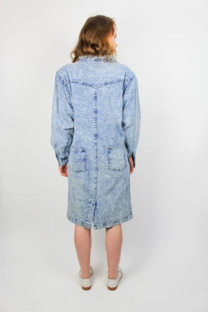 Damenkleid Jeansstoff