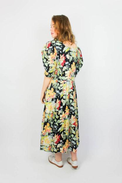 Kleid Blumenmuster