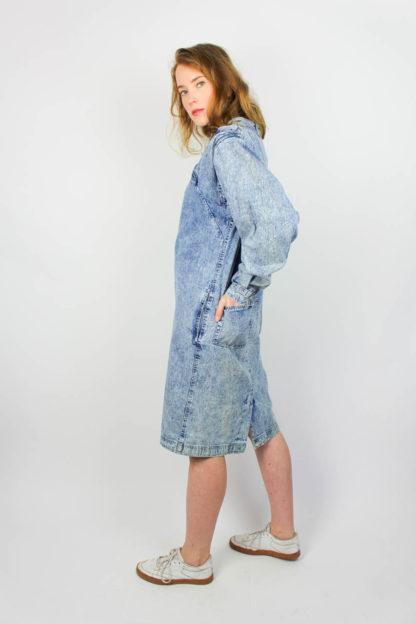 Kleid Jeansstoff