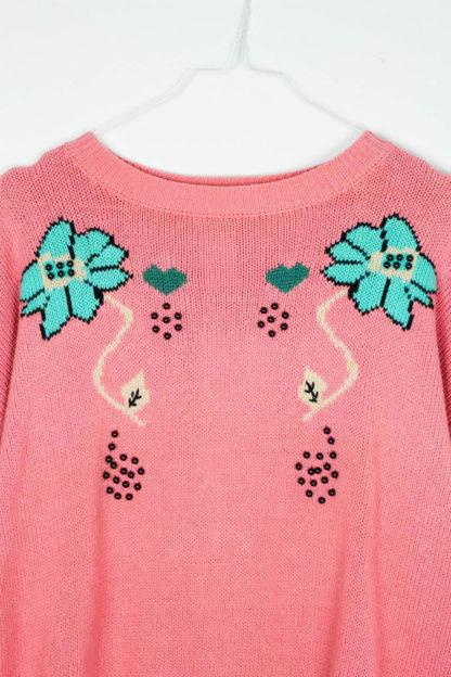Pullover Blumenmuster