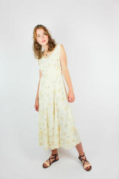 Damenkleid Blumenmuster