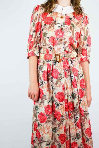 Damenkleid Florales Muster