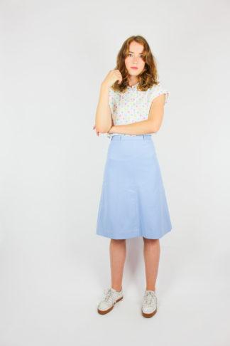 Damenrock Blau