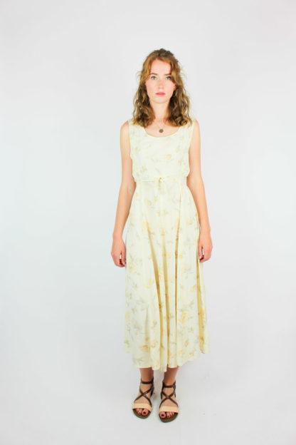 Secondhand Sommerkleid Gelb