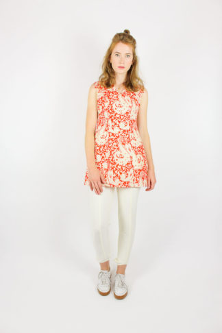 Vintage Retro Kleid 70er