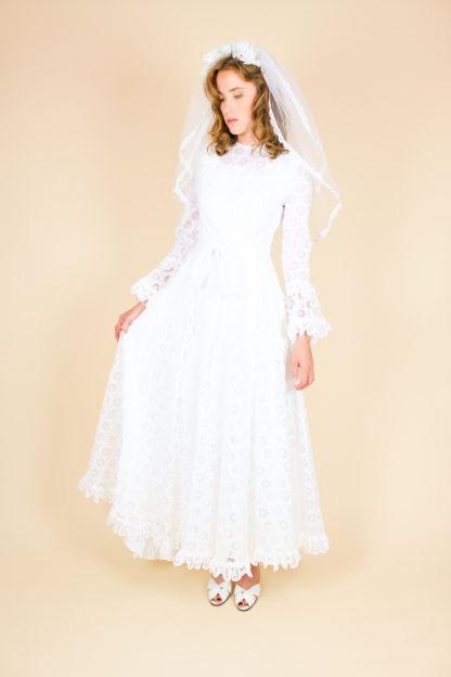 Brautkleid 80er