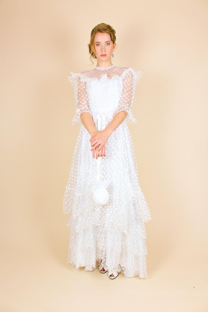 Vintage Brautkleid 80er Jahre Belinda | Oma Klara