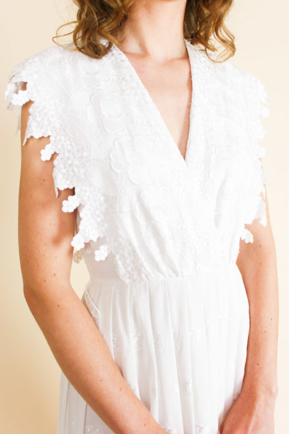 Brautkleid V-Ausschnitt