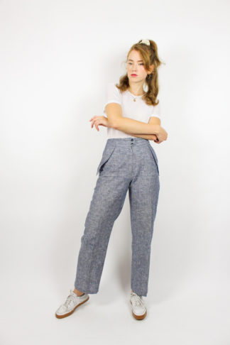 Vintage Hose Grau