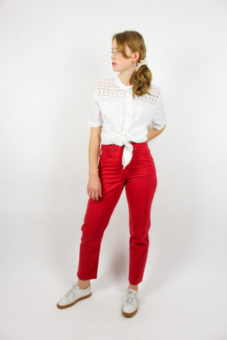 Vintage Jeans Rot