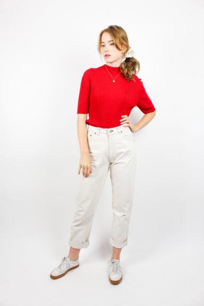 Damenpullover Rot