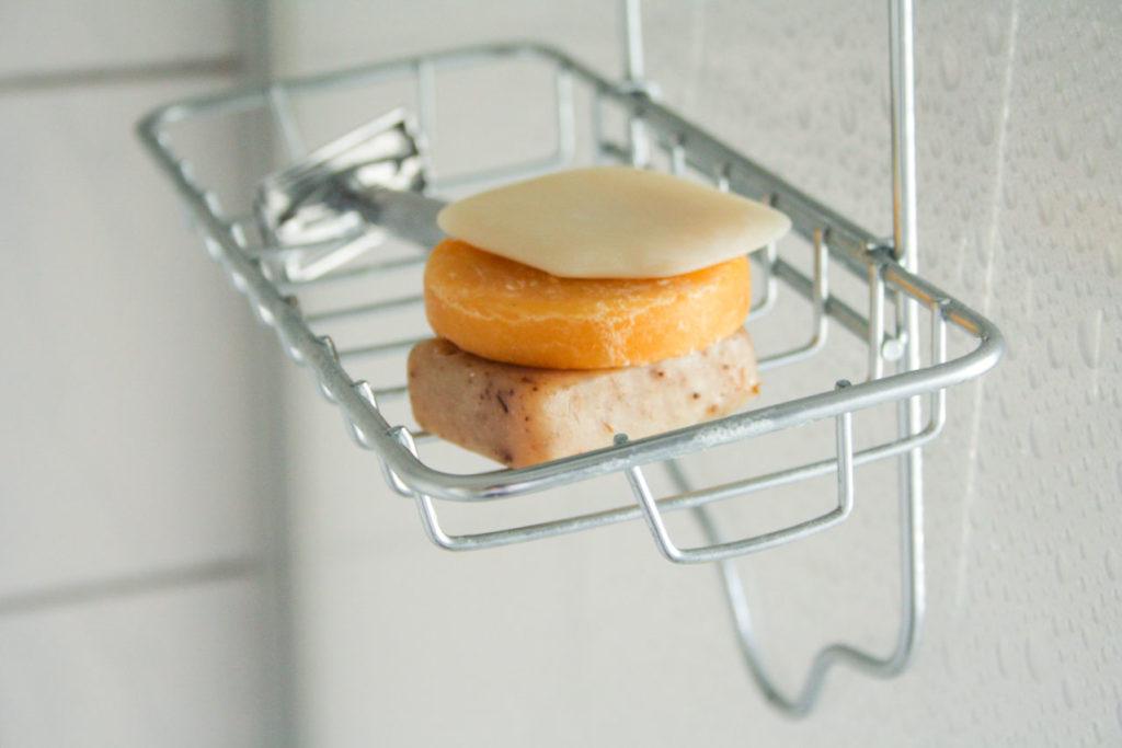 Shampoo Stueck - trocken aufbewahren