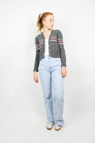 Vintage Jacke Grau