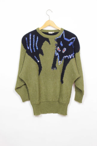 Pullover Grün