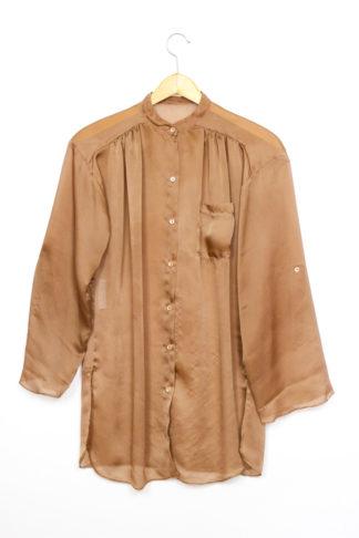 Vintage Bluse Braun