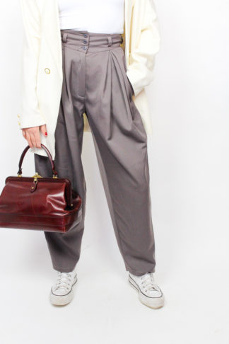 Vintage Bundfaltenhose