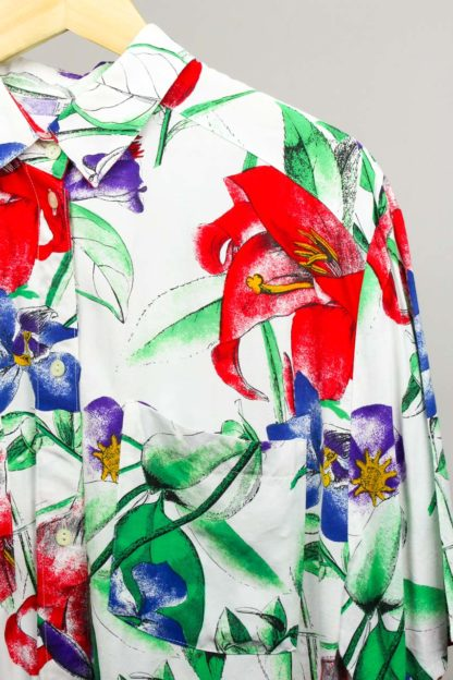Bluse Blumen
