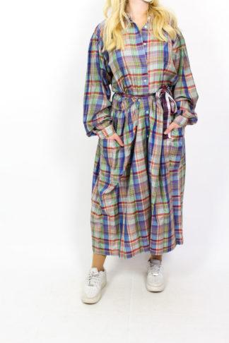 Kleid Karomuster