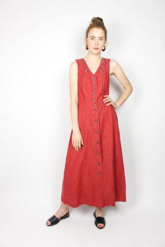 Damenkleid Rot