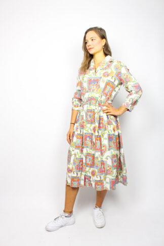 Vintage Designerkleid